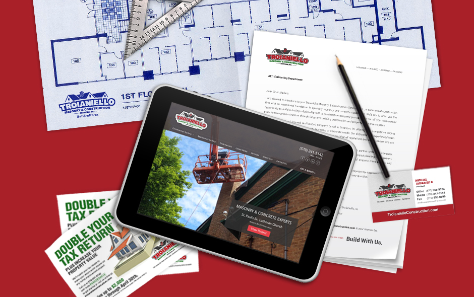 Troianiello Construction Website